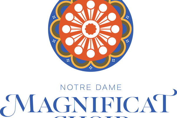 Notre Dame Magnificat Choir Logo Color V